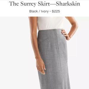 MM Lafleur Sharkskin Surrey skirt - 6